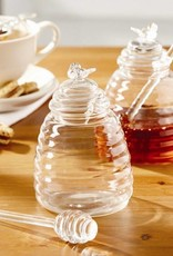 Honey Pot with Dipping Stick