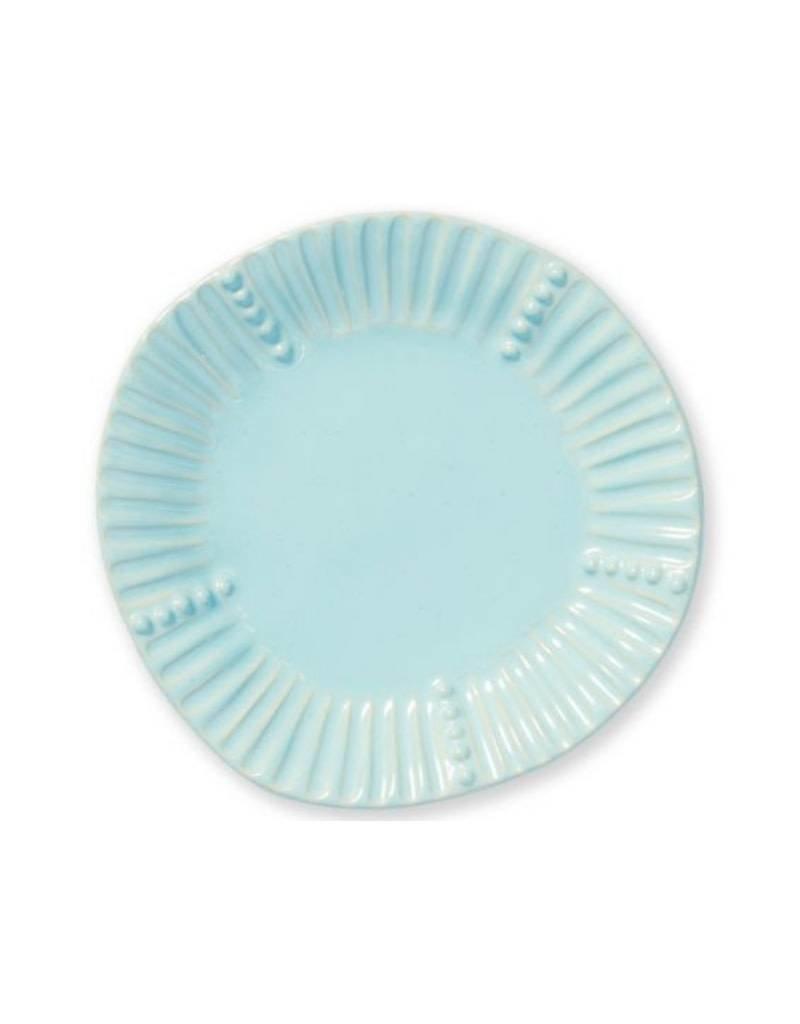 Vietri - Incanto Stone Aqua Salad Plate