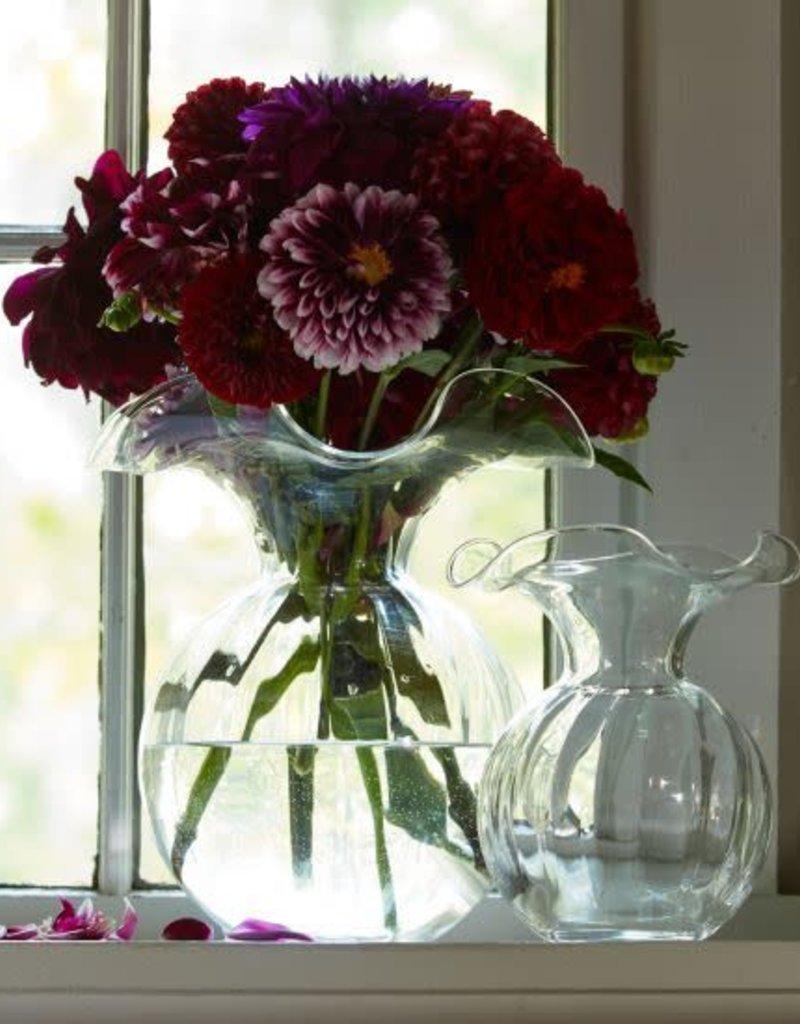 Vietri - Hibiscus Glass Large Fluted Vase
