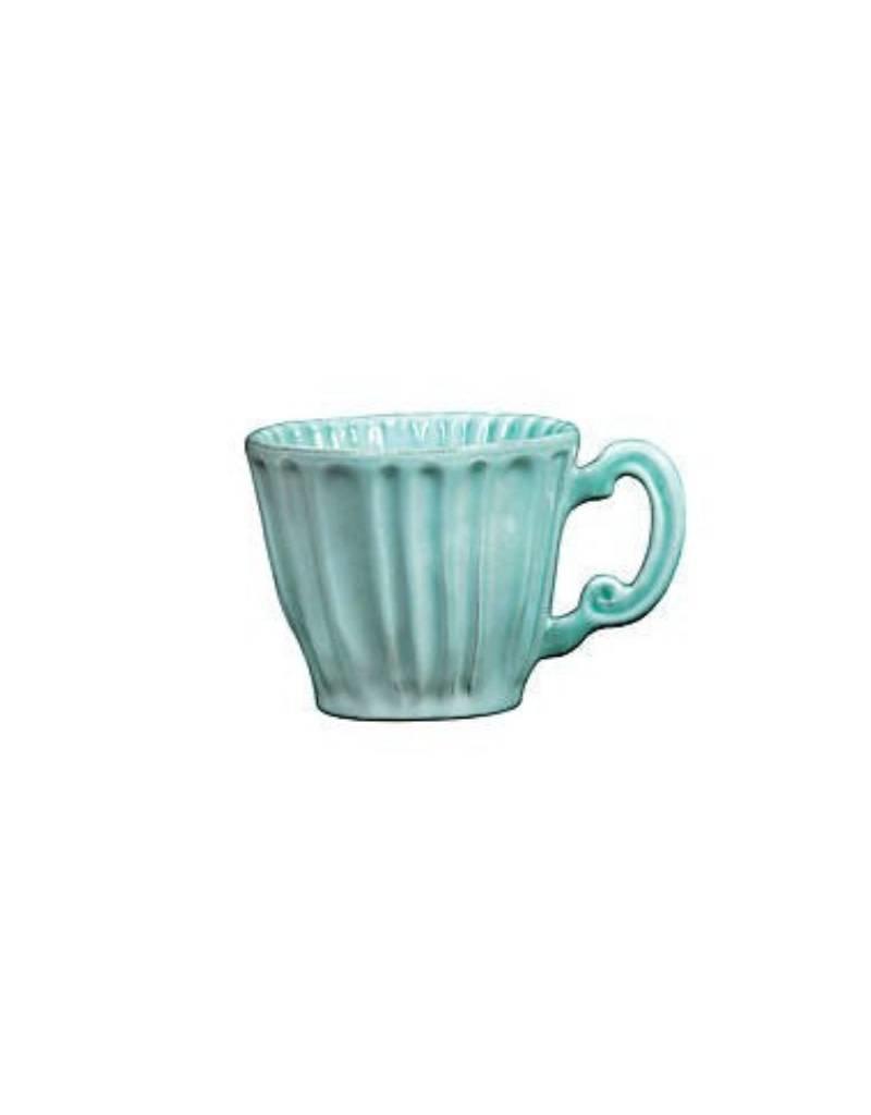 Vietri - Incanto Stone Aqua Lace Mug