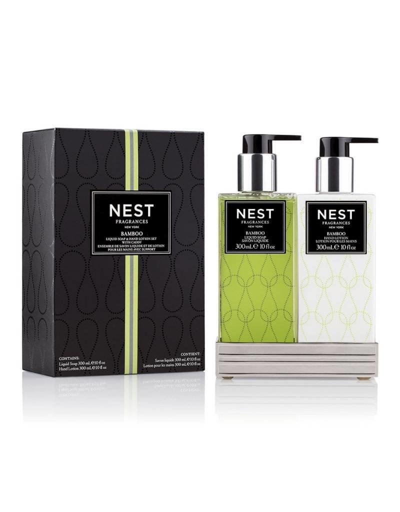 Nest Soap & Lotion Set Bamboo