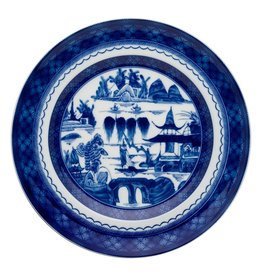 Mottahedeh Blue Canton Dinner Plate