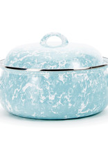 Golden Rabbit- Sea Glass Dutch Oven