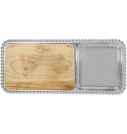 Mariposa- Pearled Cheese & Cracker Serving Tray