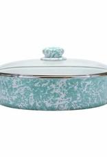 Golden Rabbit- Large Saute Pan (Sea Glass)