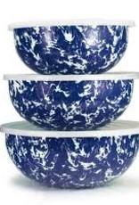 Golden Rabbit- Mixing Bowls (Cobalt Swirl)