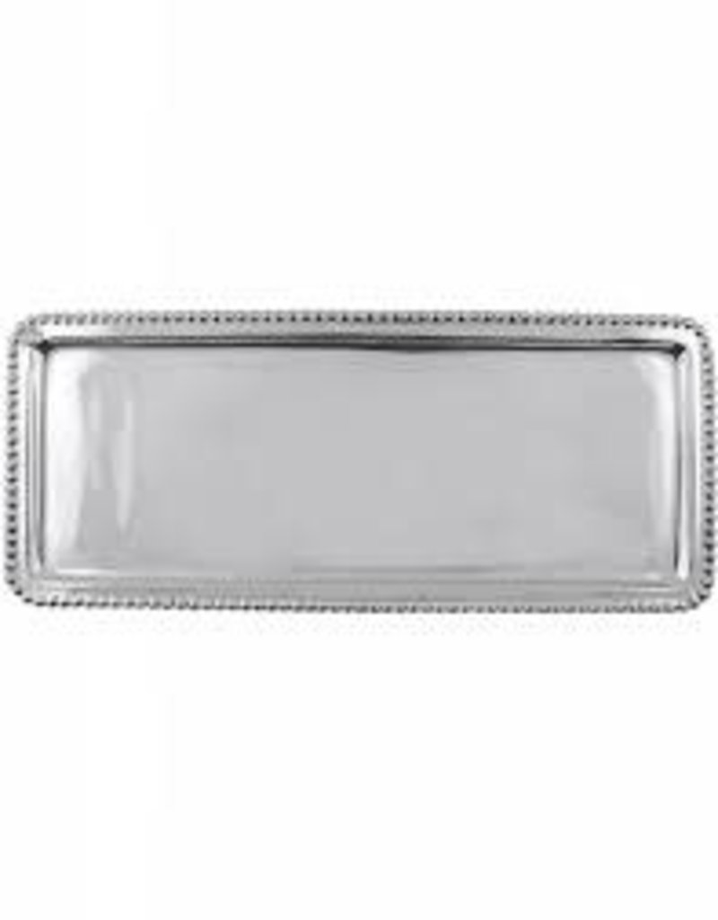 Mariposa- Charms Beaded Rectangular Platter