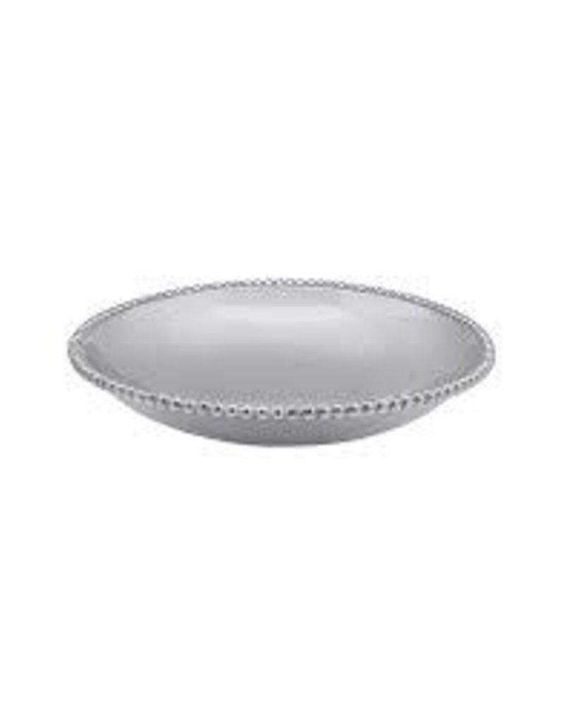 Mariposa- Pearled Round Bowl