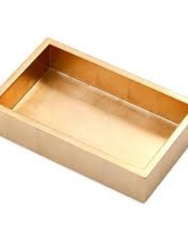Caspari- Gold Lacquer Guest Towel Holder