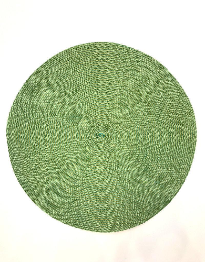 Deborah Rhodes Placemat (mustard/jade)