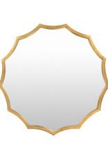 30x30 Gold Mirror