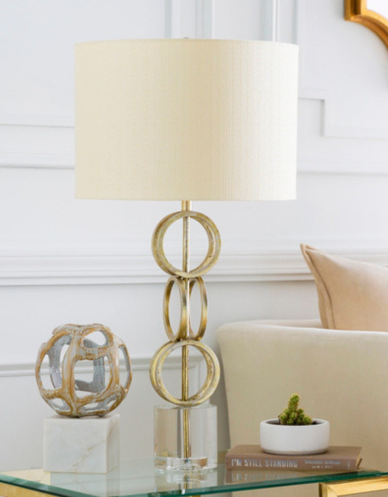 Gold Link Lamp