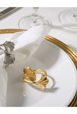 Gold Ginko Napkin Ring