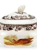Spode- Covered Sugar (Birds)