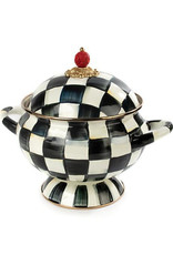 Mackenzie Childs  Courtly Check Enamel Tureen
