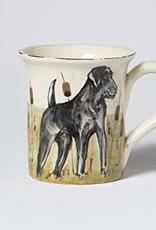 Vietri Wildlife Black Lab Mug