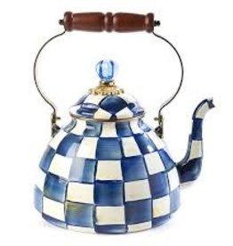 Mackenzie Childs -  Royal Check Tea Kettle 3 Quart
