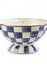 Mackenzie Childs - Royal Check Colander Large