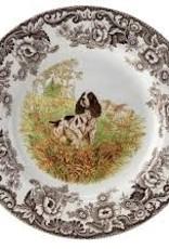 """Spode- Woodland Dinner 10.5"""" (Spaniel)"""