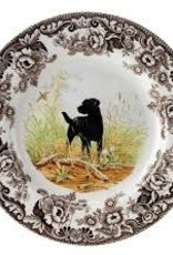"Spode- Woodland Dinner 10.5"" (Black Lab)"