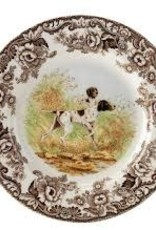 "Spode-  Woodland Dinner 10.5"" (Pointer)"