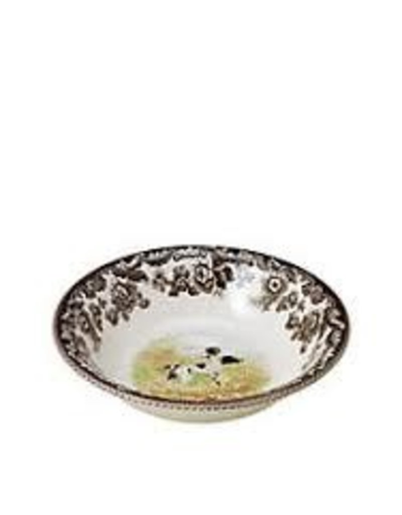 """Spode - Woodland Ascot Cereal 8"""" (Pointer)"""