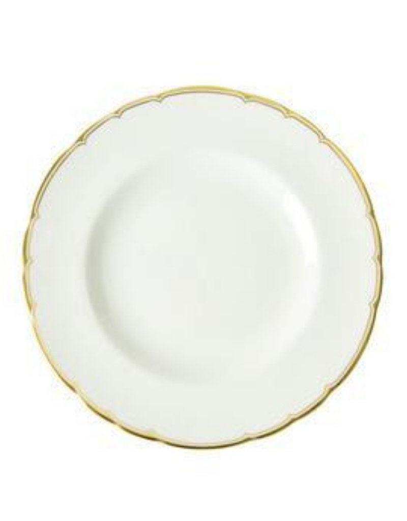 Royal Crown Derby Chelsea Duet Gilded Dinner Plate
