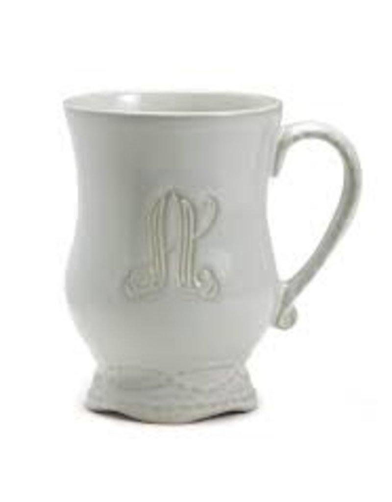 """Skyros- Legado Mug (Pebble) """"H"""""""