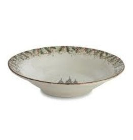 Arte Italica-  Natale Large Round Serving Bowl