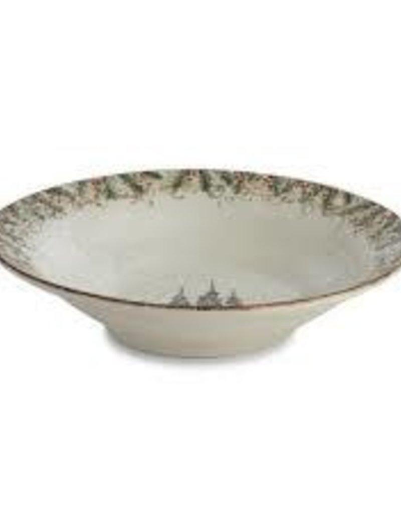 Arte Italica-  Natale Large Round Serving Bowl