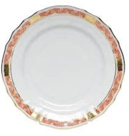 Herend Chinese Bouquet Garland Rust Service Plate