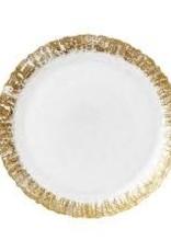 Vietri - Rufolo Glass Salad Plate
