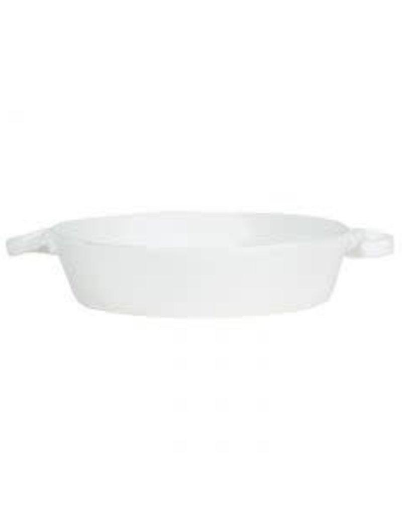 Vietri Lastra Round Handled Baker