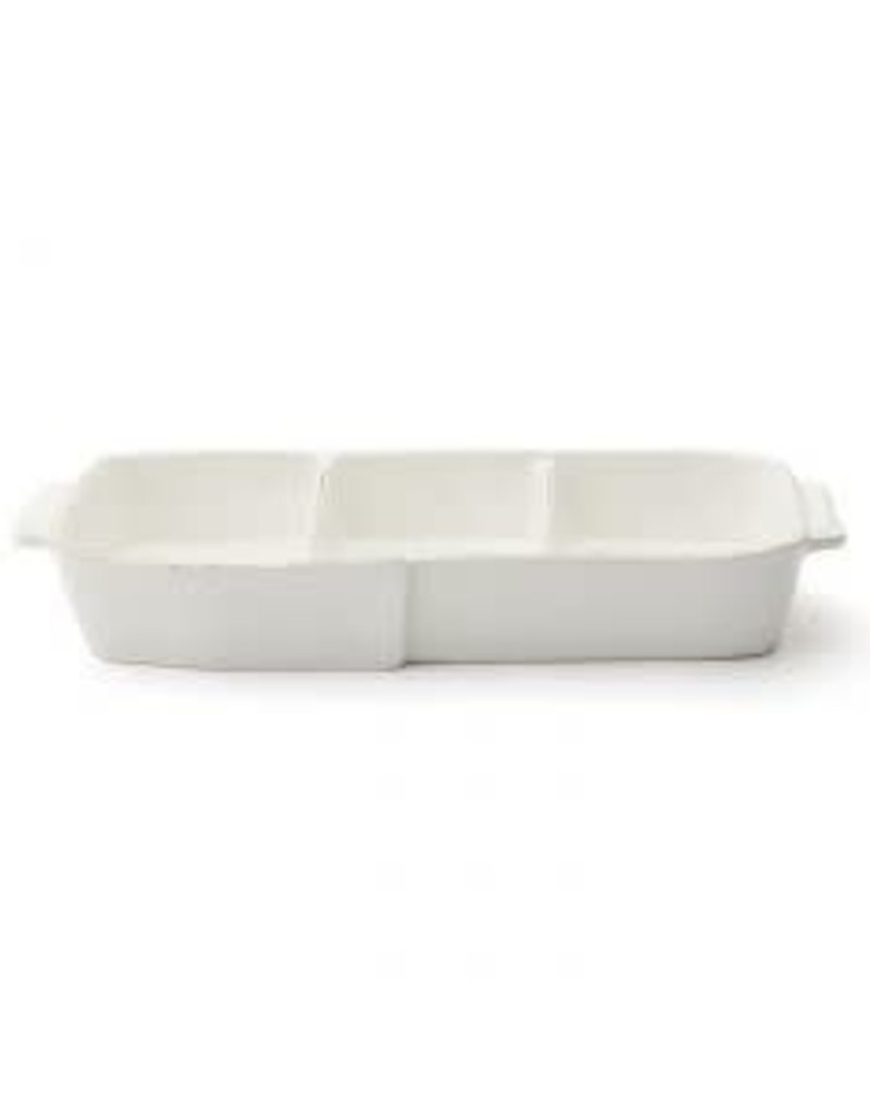 Vietri - Lastra 3-Part Serving Platter