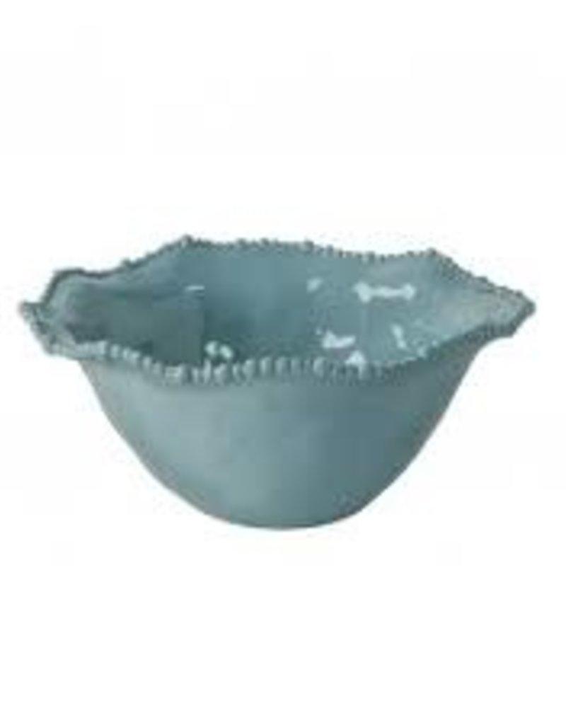 Melamine-  Vida Alegria Bowl Lg (Blue)