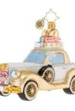 Christopher Radko- Wedding Bliss Chariot