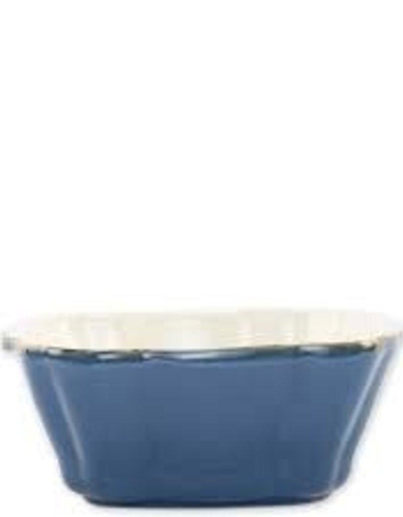 Vietri- Blue Small Small Square Baker