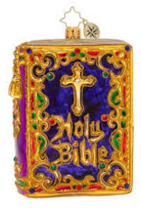 Christopher Radko- The Holy Bible