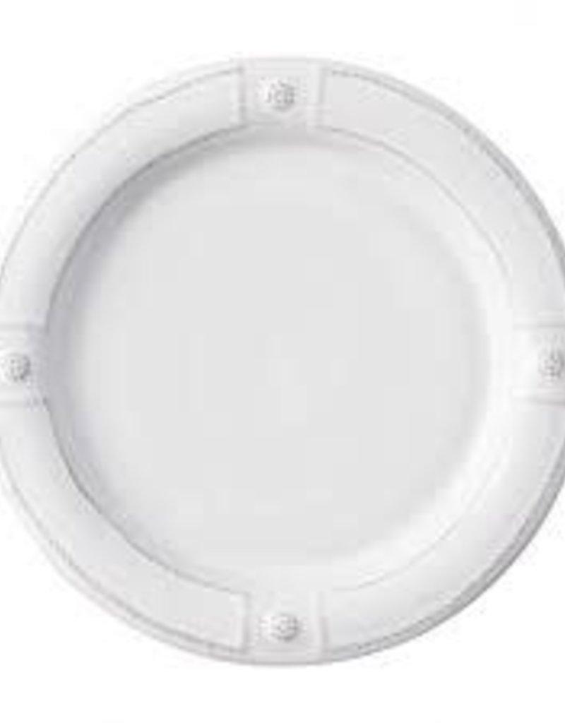 Juliska - Berry & Thread French Panel White Dinner Plate