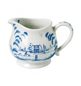 "Juliska Country Estate Delft Blue Creamer 4"""