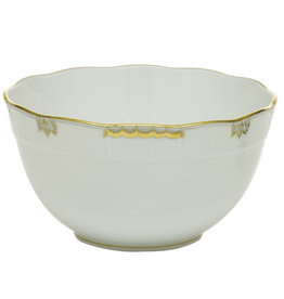Herend Princess Victoria Gray Round Bowl
