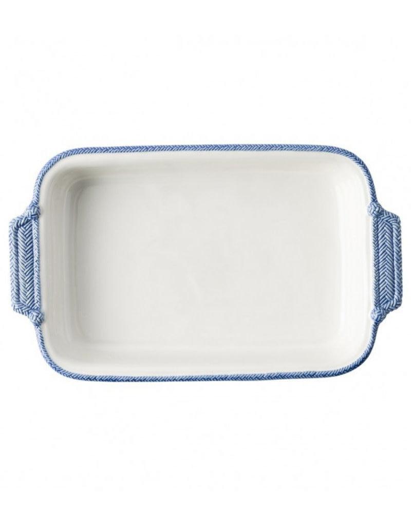 """Juliska  Baker Le Panier White/Delft Blue 16"""""""