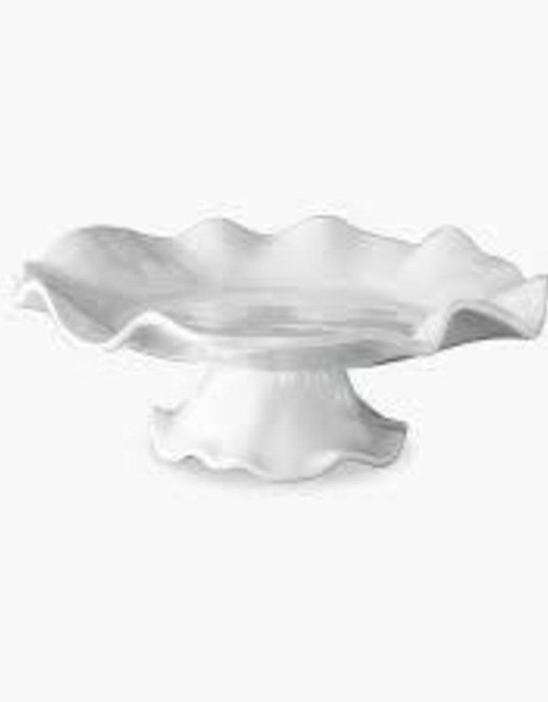 Beatriz Ball Melamine- VIDA Havana Pedestal Cake Plate white