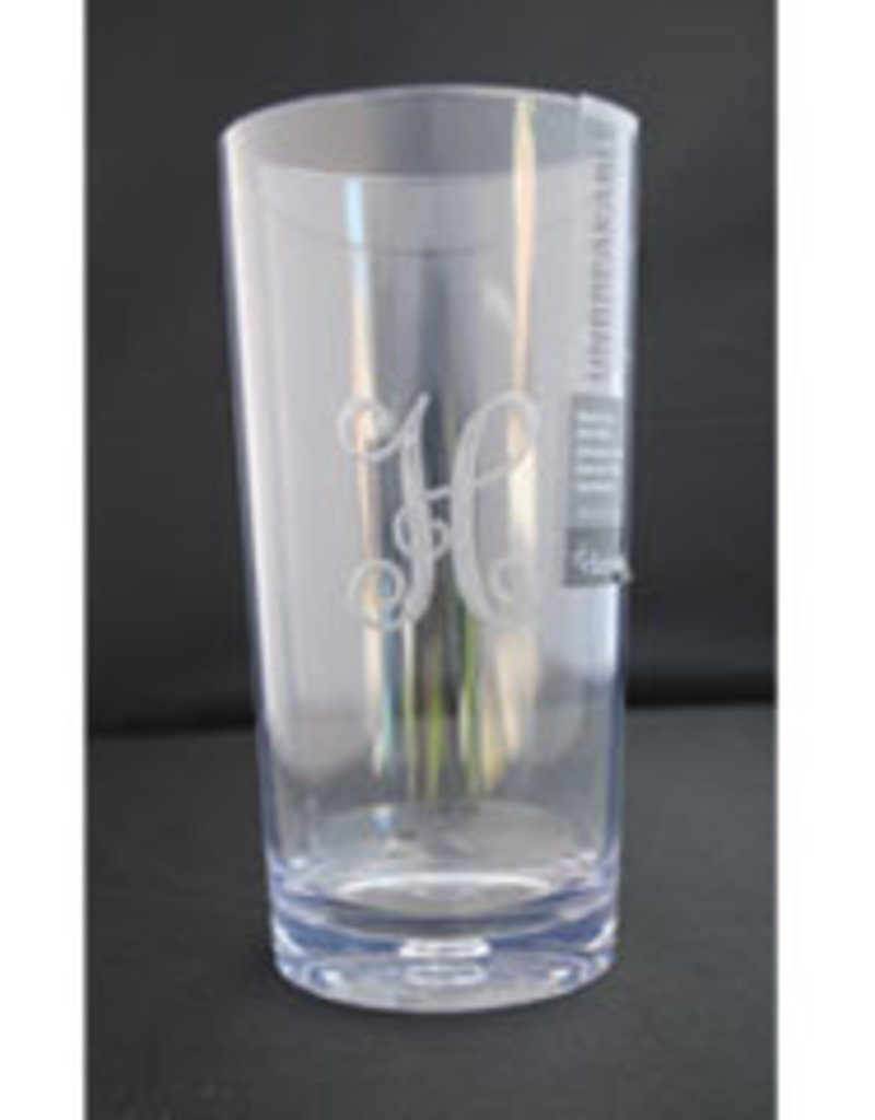 "Tiger Lily -""kBc"" (set of 4) Highball Glasses"