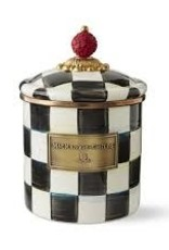 Mackenzie Childs - Courtly Check Enamel Canister Small