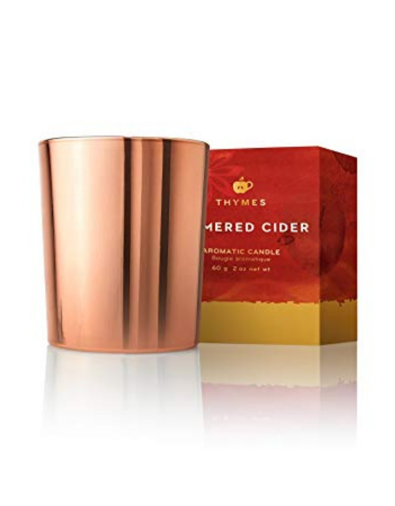 Simmered Cider Metallic Poured Candle