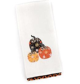 Mackenzie Childs Pumpkin Party Dish Towel