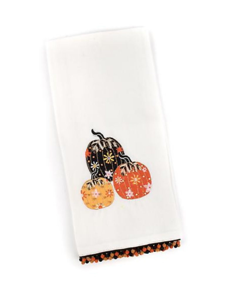 Mackenzie Childs Pumpkin Party Dish Towel