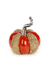 Mackenzie Childs Shimmer Pumpkin Small
