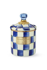 Mackenzie Childs Royal Check Canister Small